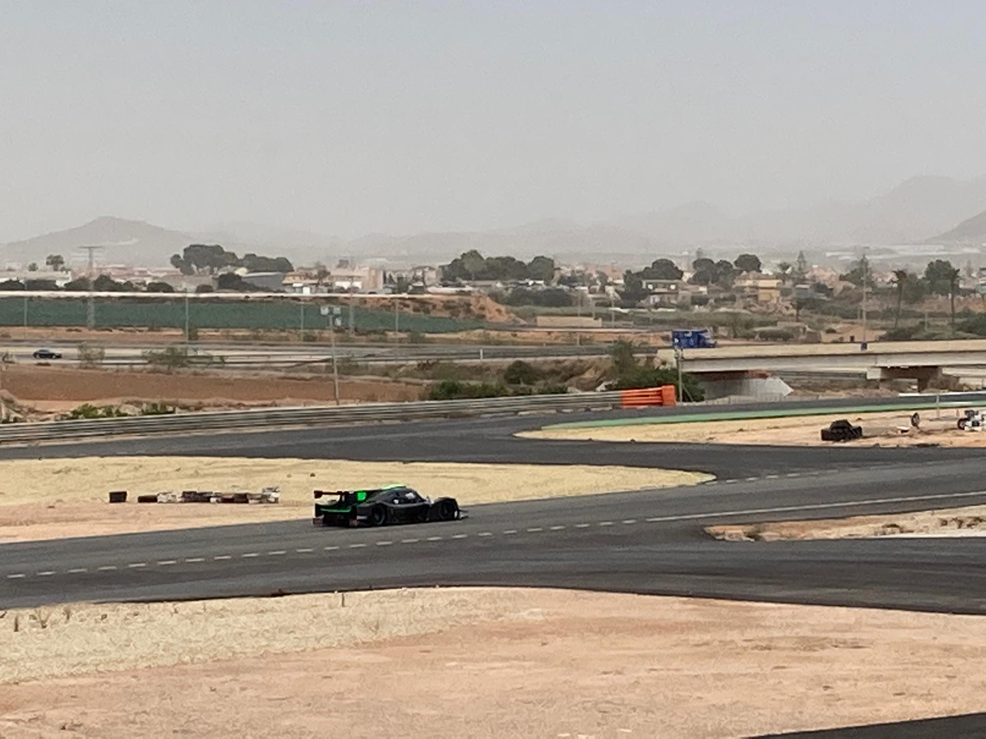 Lmp3 test cartagena 7 carrie