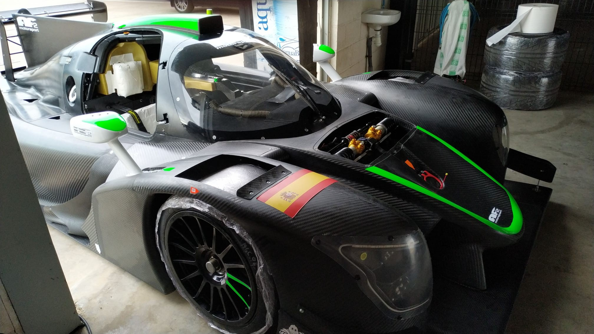 Lmp3 test cartagena 9 carrie