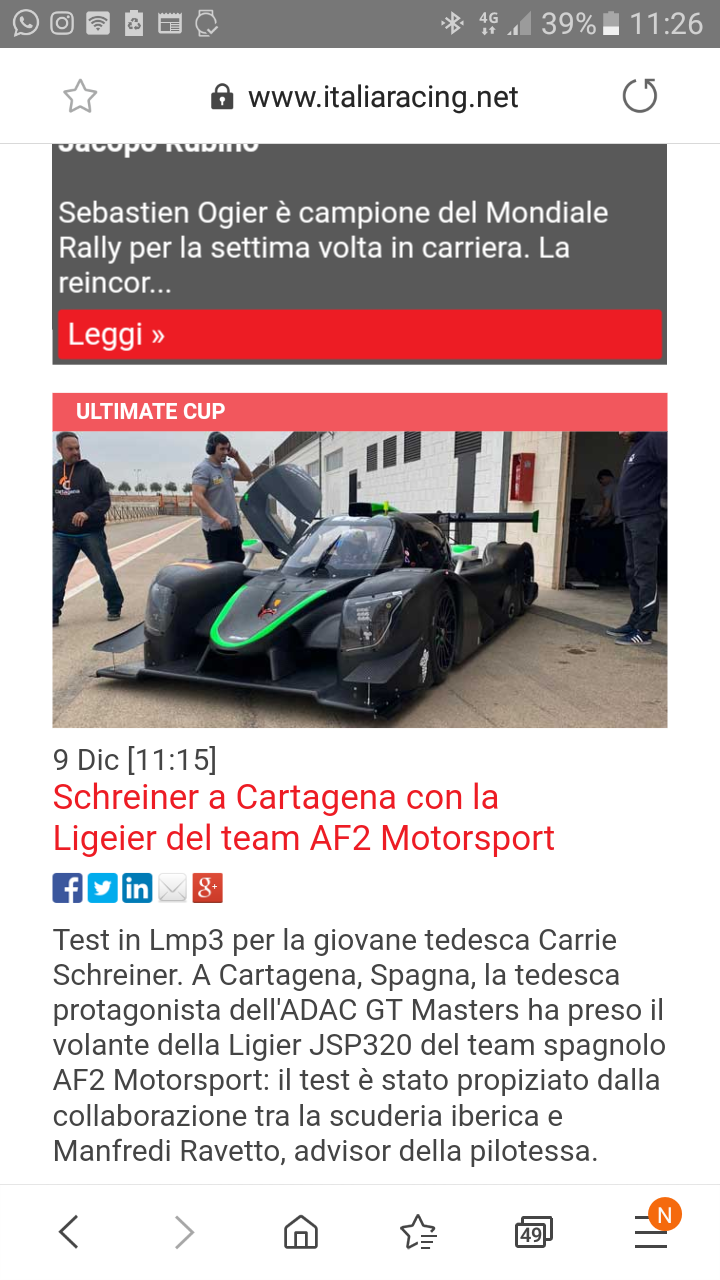 Lmp3 test cartag carrie schreiner 2020 Press