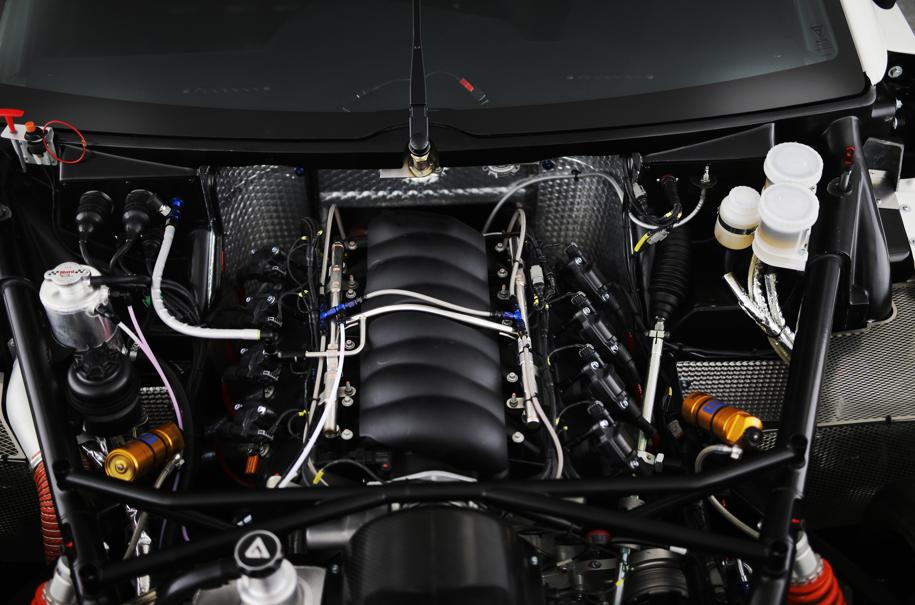 Ginetta g56 gt4 moteur